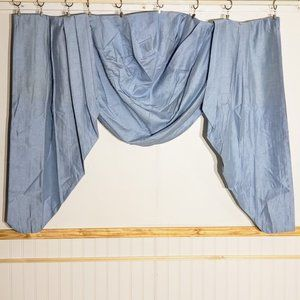 Vintage Accents - Vintage Montgomery Ward Jabot Curtain Set 2 Panels